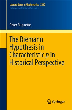 The Riemann Hypothesis in Characteristic p in Historical Perspective