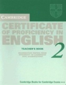Cambridge certificate of proficiency in english 2 tb