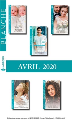 Pack mensuel Blanche : 10 romans (Avril 2020)