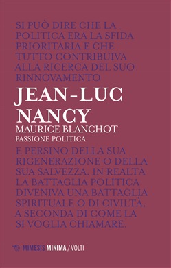 Maurice Blanchot. Passione politica