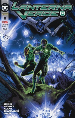 Image of Lanterna verde. Vol. 8 - Geoff Johns
