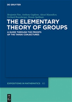 The Elementary Theory of Groups
