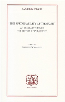 Image of The sustainability of thought. An itinerary through the history of ph