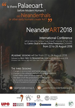NeanderArt 2018. Proceedings. Is there palaeoart before modern humans? Did Neanderthals or other early humans create «art»?