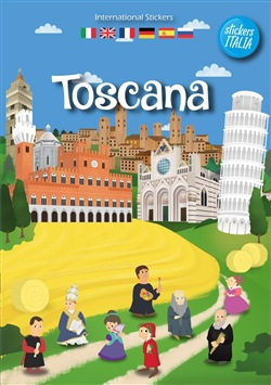 Image of Toscana sticker book. Ediz. multilingue - Andrea Francesco Tessarolo