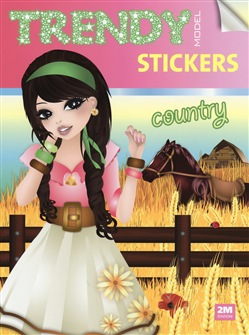 Image of Trendy model stickers. Country. Con adesivi - Valentina Russo