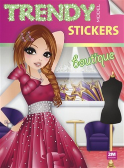 Image of Trendy model stickers. Boutique - Valentina Russo