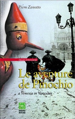 Image of Le aventure de Pinochio a Venexia in venexian eBook - Piero Zanotto