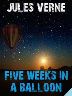 Image of Five Weeks in a Balloon eBook - Jules Verne;Bauer Books