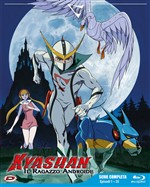 Kyashan Il Ragazzo Androide (Eps 01-35) (4 Blu-Ray+booklet)