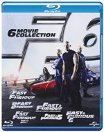 Fast & Furious - 6 Film Collection (6 Blu-ray)