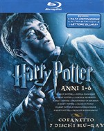 Harry Potter Anni 1-6 Cofanetto (7 Blu-ray)