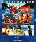Boog & Elliot / Surf's Up / Monster House (3 Blu-ray)