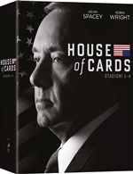 House Of Cards - Stagione 01-04 (16 Dvd)