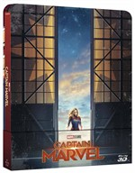 Captain Marvel (Steelbook) (Blu-Ray 3d+blu-Ray)
