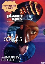 Minority Report / Solaris / Planet Of The Apes (3 Dvd)