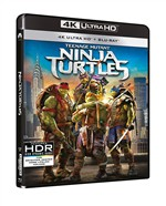 Tartarughe Ninja (Blu-Ray 4k Ultra Hd+blu-Ray)