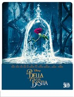 La Bella e La Bestia - Live Action (Steelbook) (2 Blu-Ray)