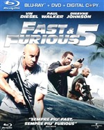 Fast And Furious 5 (Blu-ray+dvd+digital Copy)