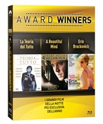 La Teoria del Tutto / a Beautiful Mind / Erin Brockovich - Oscar Collection (3 Blu-Ray)