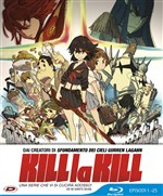 Kill La Kill - Limited Edition (Eps 01-25) (4 Blu-Ray)