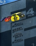 The Fast And The Furious Ultimate Collection (4 Blu-ray)