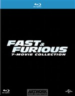 Fast And Furious - 7 Film Collection (7 Blu-ray)