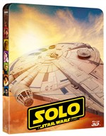 Star Wars - Solo: A Star Wars Story (3d) (Blu-Ray 3d+2 Blu-Ray) (Ltd Steelbook)