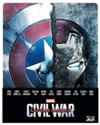 Captain America - Civil War (3d) (Ltd Steelbook) (Blu-Ray 3d+blu-Ray)