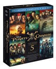 Pirati dei Caraibi Collection 1-5 (5 Blu-Ray)
