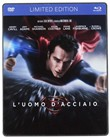 L' Uomo D'acciaio (Blu-Ray+dvd) Steelbook Limited Edition
