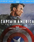 Captain America (3d) (blu-ray 3d+blu-ray+dvd+digital Copy)