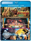 Jumanji - Games Collection (3 Blu-Ray)