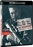 The Accountant (Blu-Ray 4k Ultra Hd+blu-Ray)