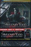Sweeney Todd - Il Diabolico Barbiere Di Fleet Street + Guida National Geographic Londra (Dvd+libro)