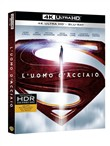 L' Uomo D'acciaio (Blu-Ray 4k Ultra Hd+blu-Ray+copia Digitale)