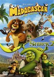 madagascar / shrek 2 box ...