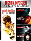 Mission Impossible - 5 Movie Collection (5 Dvd)