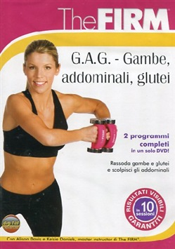 Image of The Firm - Gag - Gambe Addominali Glutei (Dvd+booklet)
