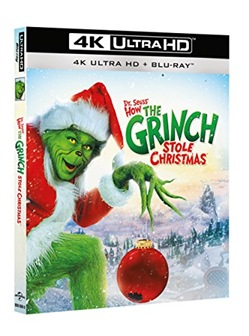 Il Grinch (Blu-Ray 4k Ultra Hd+blu-Ray)