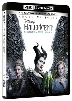 Maleficent - Signora del Male (Blu-Ray 4k Ultra Hd+blu-Ray)
