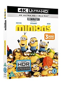 Minions (Blu-Ray 4k Ultra Hd+blu-Ray)