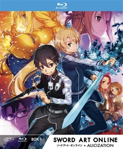 Sword Art Online Iii Alicization - Limited Edition Box #01 (Eps 01-12) (3 Blu-Ray)
