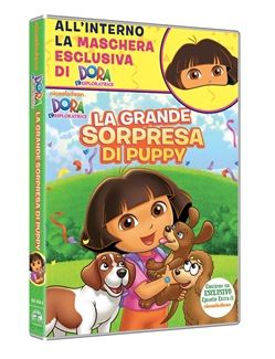 Dora L'esploratrice - La Grande Sorpresa di Puppy (Dvd+maschera (Carnevale Collection)