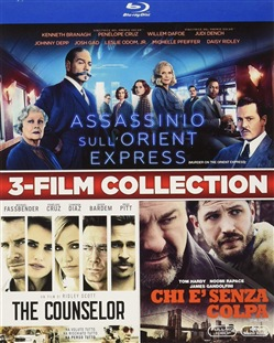 Assassinio Sull'orient Express / The Counselor / The Drop (3 Blu-Ray)