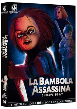 La Bambola Assassina (1988) (Ltd Edition) (3 Dvd+booklet)