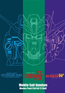 Mobile Suit Gundam - Movies Pack (Ltd Ed) (3 Dvd)