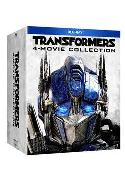 Image of Transformers Quadrilogia (4 Blu-Ray)