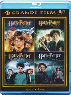 Harry Potter - 4 Grandi Film #01 (4 Blu-Ray)