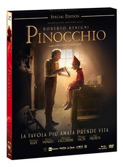 Pinocchio (Special Edition) (Blu-Ray+dvd+card)